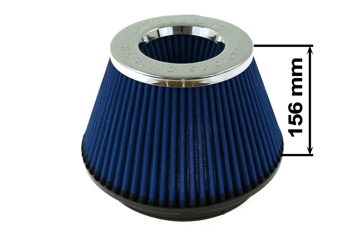 Filtr stożkowy SIMOTA JAU-K05202-05 152mm Blue - GRUBYGARAGE - Sklep Tuningowy